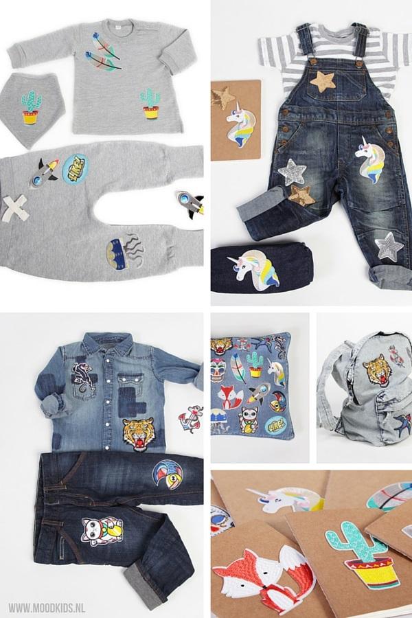 Deze zomer helemaal een trend: de strijkapplicaties. Deze van Bij Kiki vinden we geweldig. Zo maak je van een basic kledingstuk een uniek exemplaar. Bekijk de voorbeelden ter inspiratie.