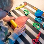 Zelf klei maken voor jonge kinderen