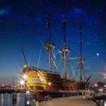 Wil jij een (gratis) nachtje slapen op een VOC-schip?