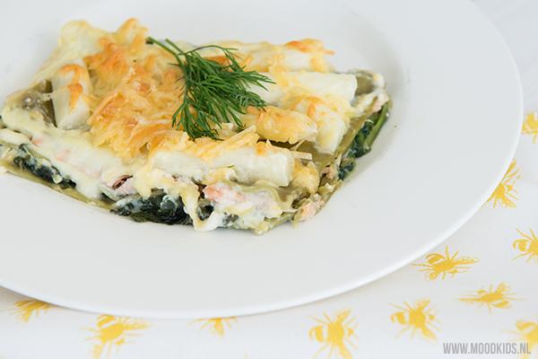 Lasagne met asperges