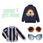 Zomerjassen en accessoires voor boys & girls