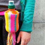 Haak een tasje voor de waterfles van je kind