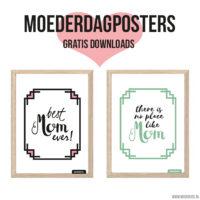 Gratis posters voor Moederdag