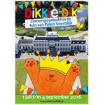 Dikkie Dik viert de zomer op Paleis Soestdijk