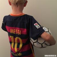 Heb jij een grote fan van Messi of Ronaldo thuis?