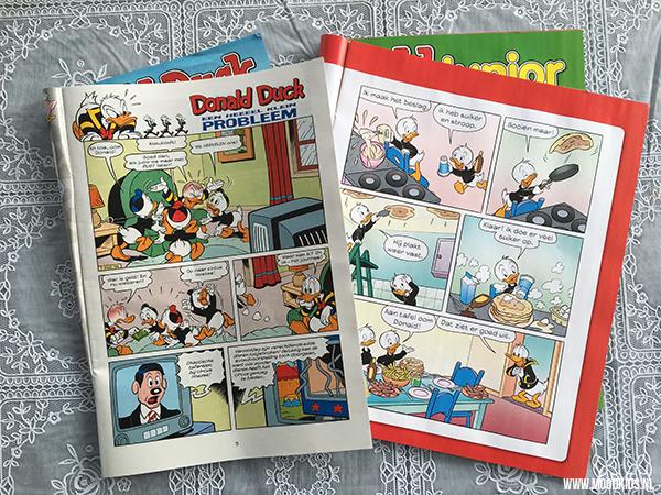 verschil Donald Duck Junior en Donald Duck Weekblad