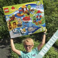 Met LEGO DUPLO Rond de wereld