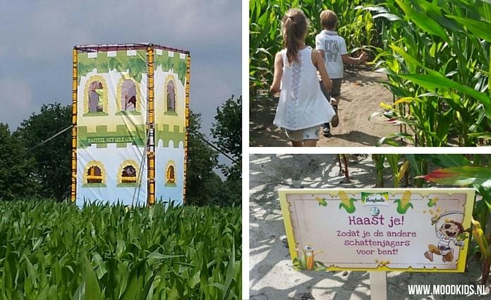 Bezoek het maisdoolhof in Nederweert Limburg 2016