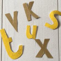 Speurtocht naar letters