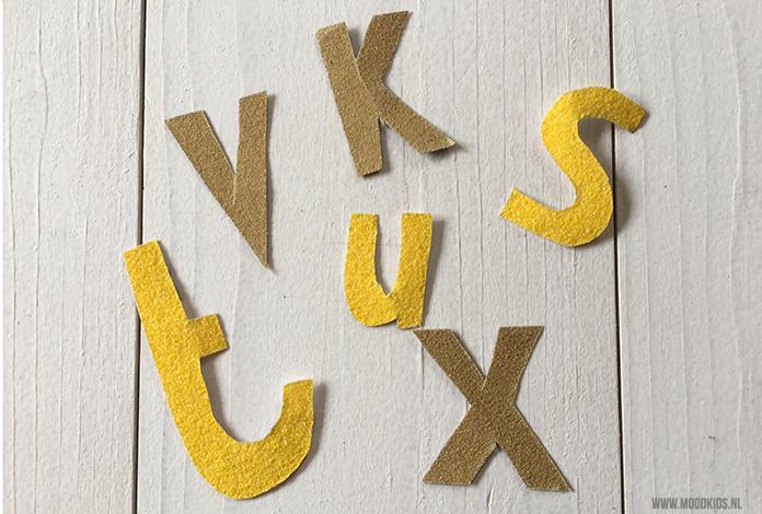 Coole Letters Babykamer : Speurtocht naar letters moodkids