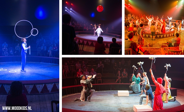 Als online ambassadeur bezocht MoodKids Circus CliniClowns. Een circus speciaal voor kinderen, die soms ziek zijn of net even anders dan anders.