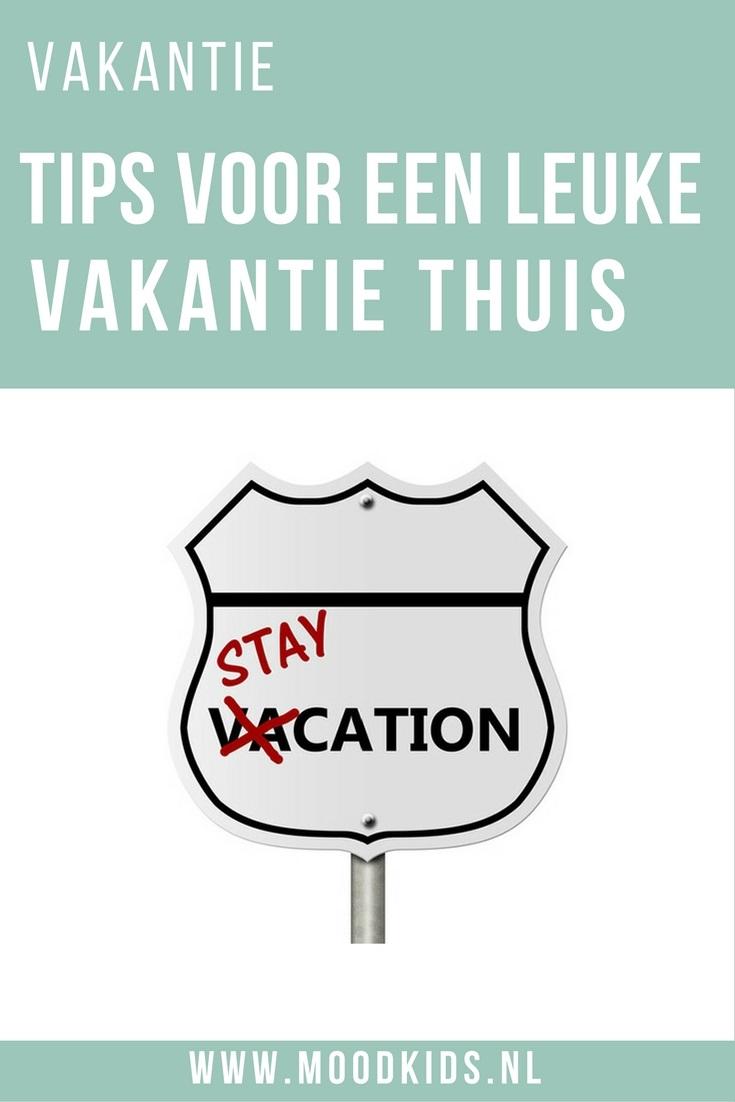 Voor ouders die geen tijd, zin of geld hebben om met vakantie te gaan. Maak thuisblijven net zo leuk. Met deze tips maak je van je staycation ook een feest!