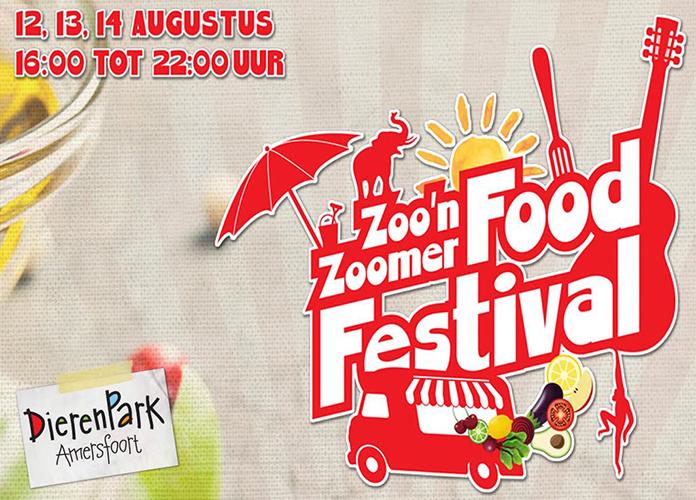 Op 12, 13 en 14 augustus 2016 vier je de zomer op het ZOO'n ZOOmer Food Festival Dierenpark Amersfoort. Voor kinderen is er een apart bijzonder programma. Klik hier voor meer info.