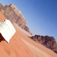 Wadi rum, de woestijn. Aqaba, lekker relaxen aan het strand
