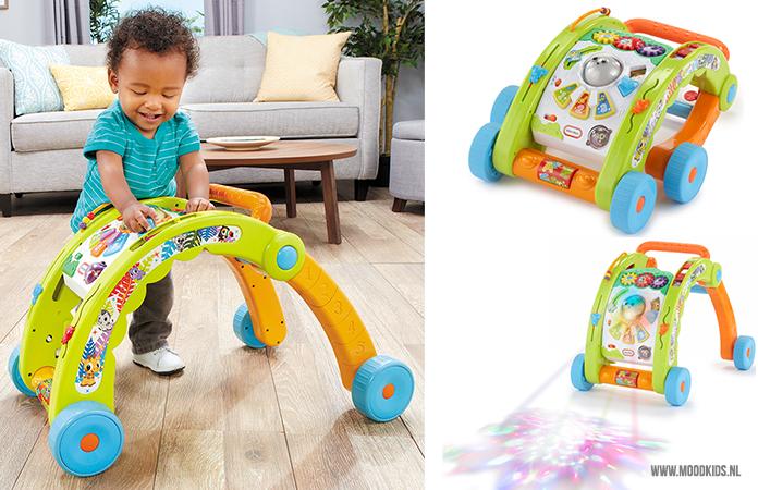 Kinderen zijn van nature nieuwsgierig. Eerst gericht op zichzelf, daarna meer op de omgeving. In de eerste levensjaren is het vooral spelenderwijs leren.