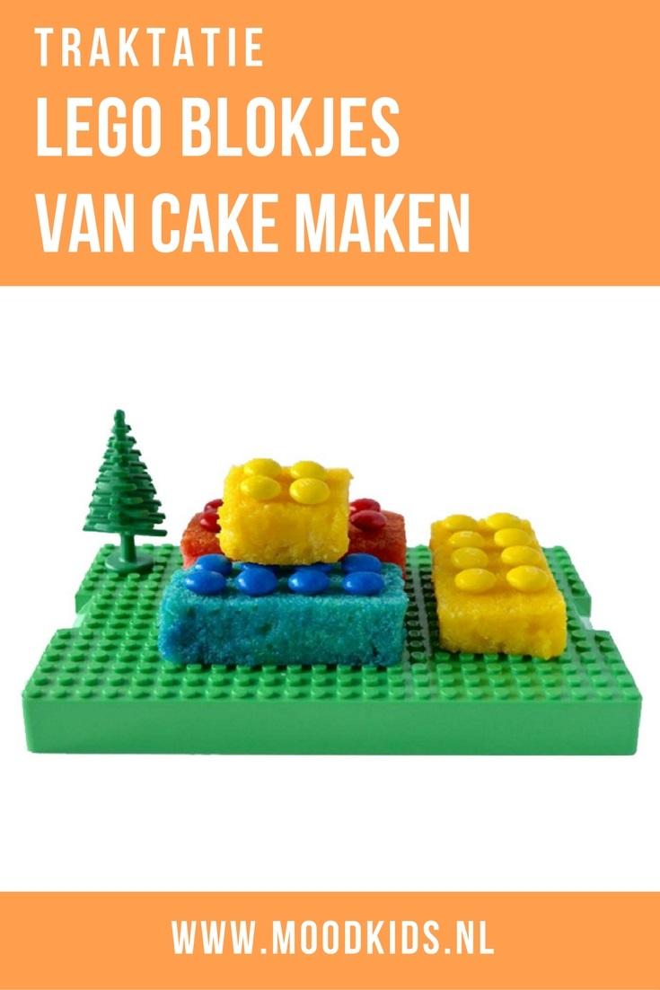 Lego, wie is er niet opgegroeid met die kleurrijke bouwsteentjes uit Denemarken? Roppongi maakte van cake en smarties deze leuke lego traktatie. Je leest hier hoe je de blokjes maakt.