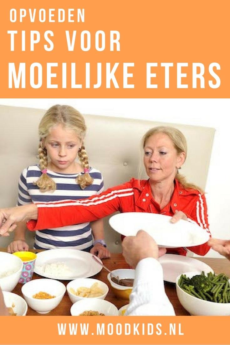Zijn jouw kinderen moeilijke eters? Jong geleerd is oud gedaan. Enkele moeilijke eters tips om je kind meer groente en fruit te laten eten. Wie weet helpen deze tips jou ook!
