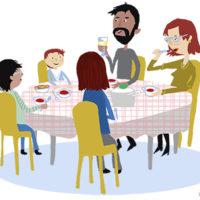 Hoe is de tafelschikking bij jullie thuis?