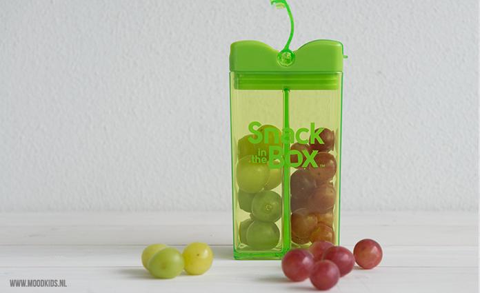 snack in the box - twee kleuren druiven