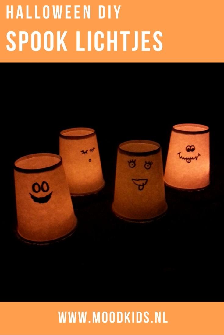 Deze verlichte spookjes maken voor Halloween is helemaal niet moeilijk. Met een klein beetje werk een groots effect. Echt leuk om samen met je kids te doen. Liza legt je hier uit hoe je ze maakt.