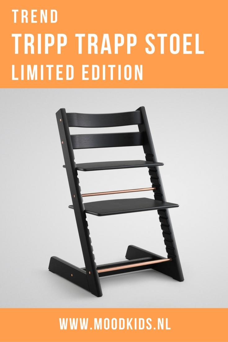 Deze week is de tien miljoenste Tripp Trap verkocht. Om dit te vieren lanceert Stokke op 18 oktober een geweldige Tripp Trapp limited edition . Twee nieuwe stoelen. Je leest er hier meer over.