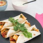 Recept wraps met vis tandoori en yoghurtsaus
