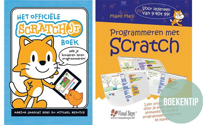 Leren programmeren is hot! Wil jouw kind leren programmeren? Lees dan dit artikel van Patsboem! over de boeken van Scratch. Voor kinderen v.a. 5 jaar.