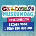 Gelderse museumdag 2016: bezoek een museum voor 1 euro