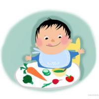 Hoe leer je je kind groente eten?