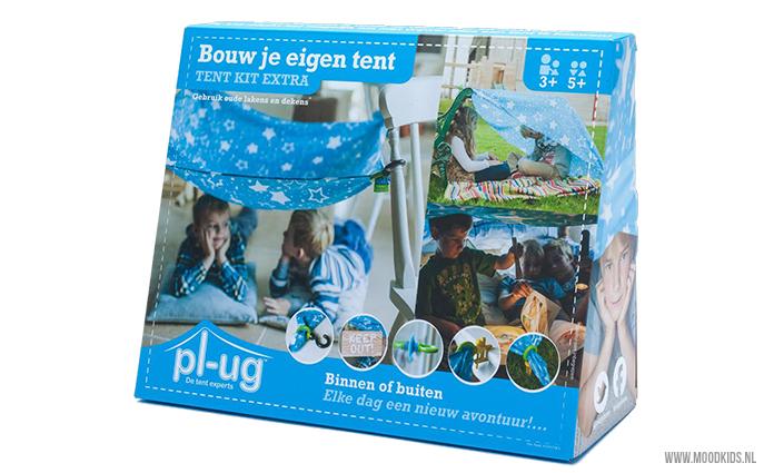 Eindeloos deden wij het vroeger: tenten en hutten bouwen. Met de PL-UG tent kit worden tenten en hutten bouwen zowel binnen en buiten extra makkelijk! Je leest hier meer over het product.