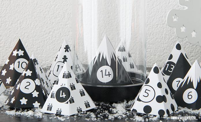 Leuk toch een adventkalender zelf maken? Met de gratis MoodKids diy adventkalender maak je een prachtig kerstbomen bos. Er zijn 3 versies die je gratis kunt downloaden. Bekijk ze hier.