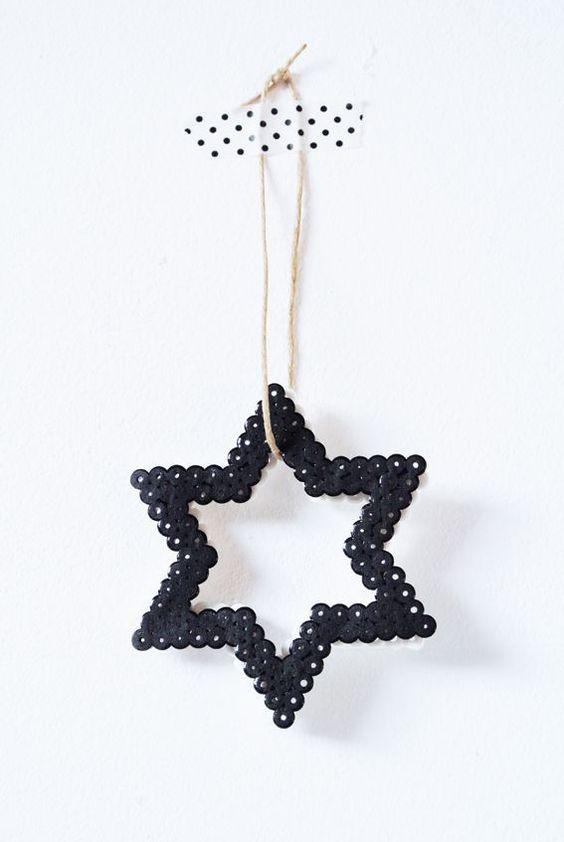 Kerstster van strijkkralen maken van Homelisty