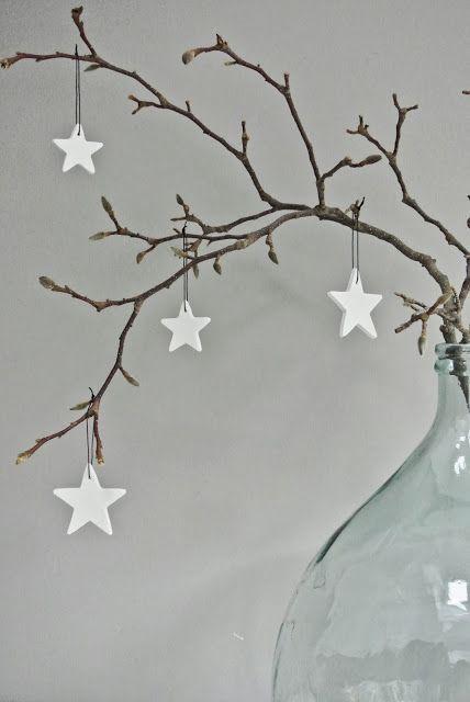 Kerstster hangers maken van klei van globalknockoffs.com