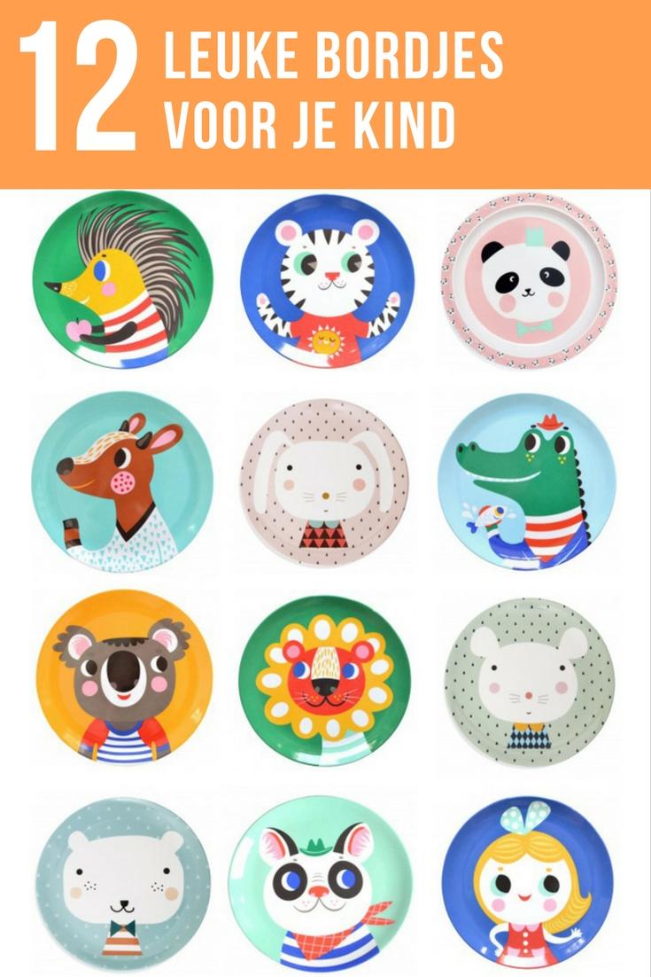 Deze leuke melamine bordjes met vrolijke illustraties maken van eten een feestje. Niet alleen voor je kind, maar ook voor jou als moeder. We maakten een selectie van 12 bordjes. Bekijk ze hier.
