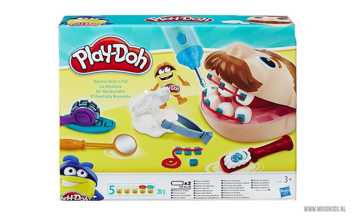 Naar de tandarts gaan kan best eng zijn, tandarts spelen echter niet! Met de Play-Doh tandarts set kan je kind zelf tandarts spelen. We geven de set 2x weg.