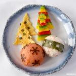 Kerstballen in je kerst lunchtrommel