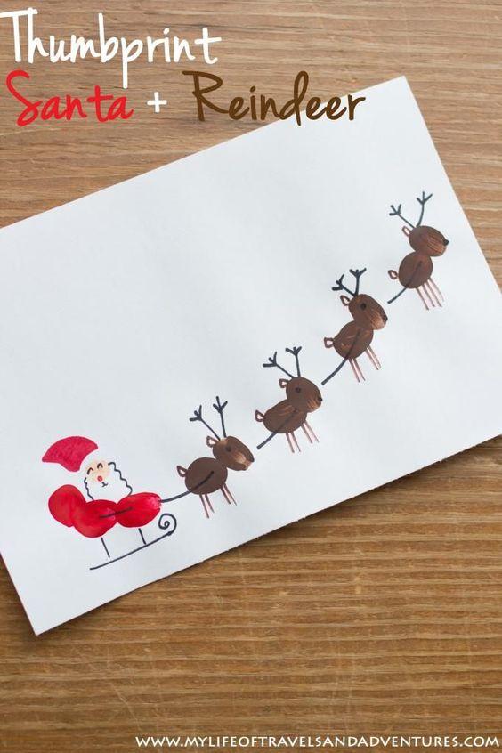 met-vingerafdrukken-zelf-een-kerstkaart-maken