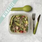 3x lunchtrommel salade inspiratie. Plus een leuke winactie!