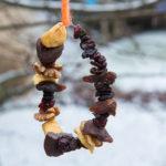 Vogelvoer maken met fruit