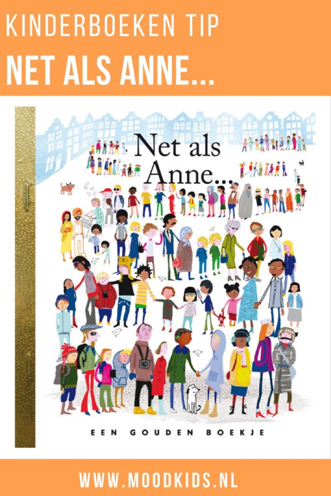 In 'Net als Anne...' benoemen kinderen uit de hele wereld wat hun dromen en drijfveren zijn. Net als Anne Frank in haar dagboek deed. Een aanrader dit boek!