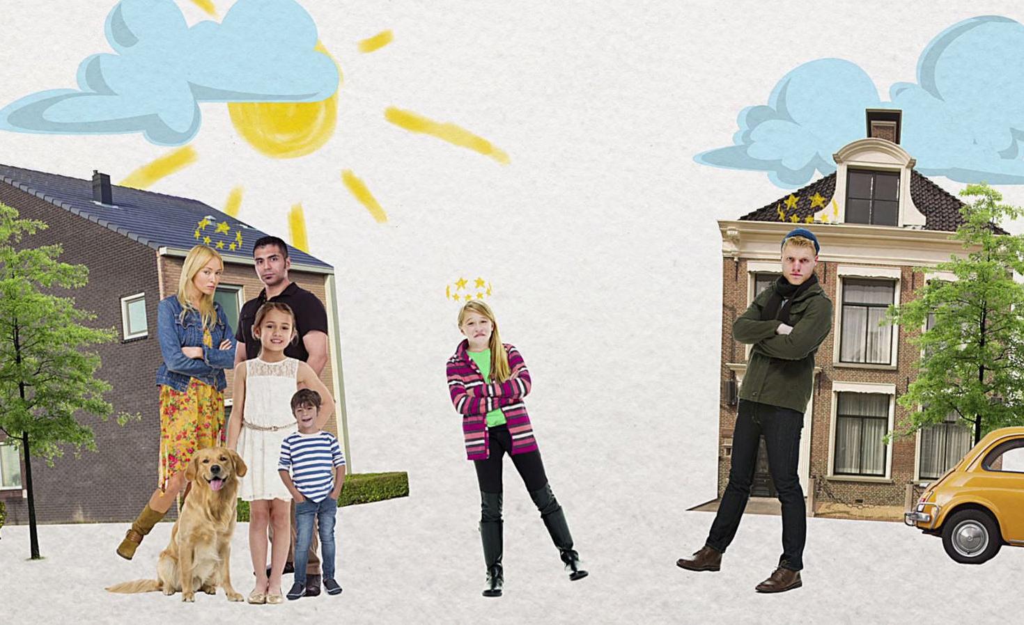 Jaarlijks krijgen 70.000 kinderen te horen dat hun ouders uit elkaar gaan. Daarom maakt Klokhuis een televisieserie over scheiden speciaal voor kinderen!