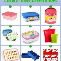 Handige en leuke lunchtrommels voor je kind