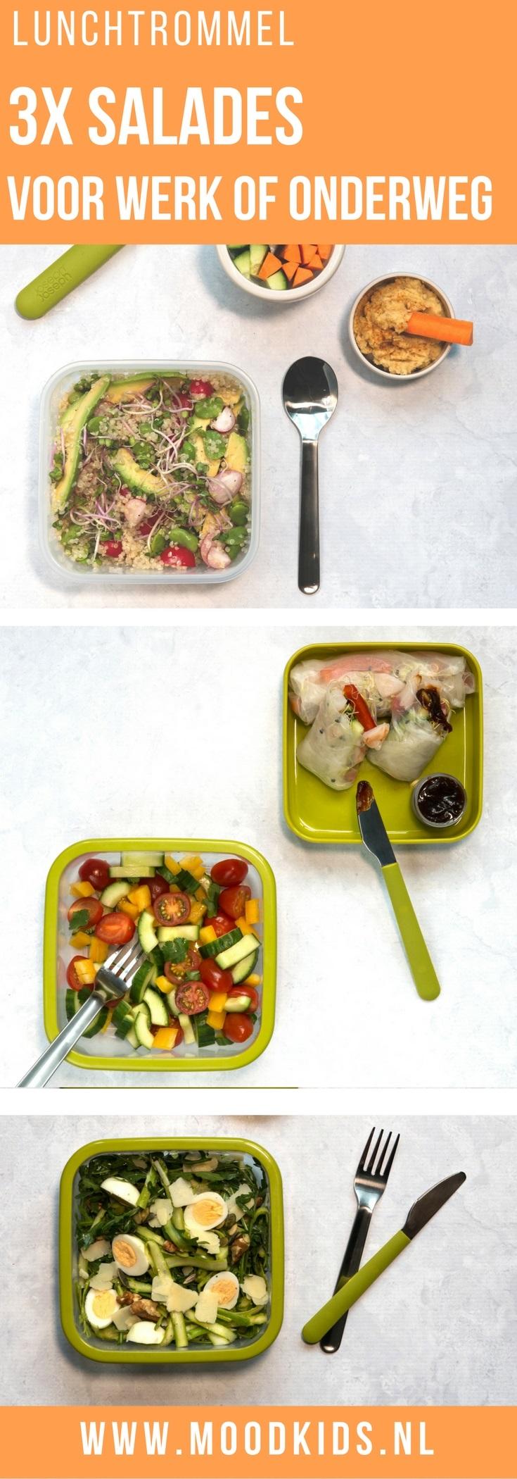 Heb jij ook een frisse start gemaakt in het nieuwe jaar? We hebben 3x een lekkere lunchtrommel salade bedacht voor op het werk of onderweg. Je vindt de recepten hier.