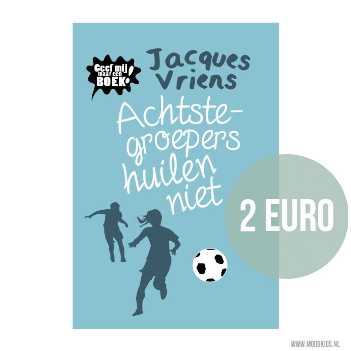 Achtstegroepers huilen niet is vanaf 10 februari 2017 te koop voor 2 euro in het kader van de actie ' Geef mij maar een boek'. Lees hier meer.