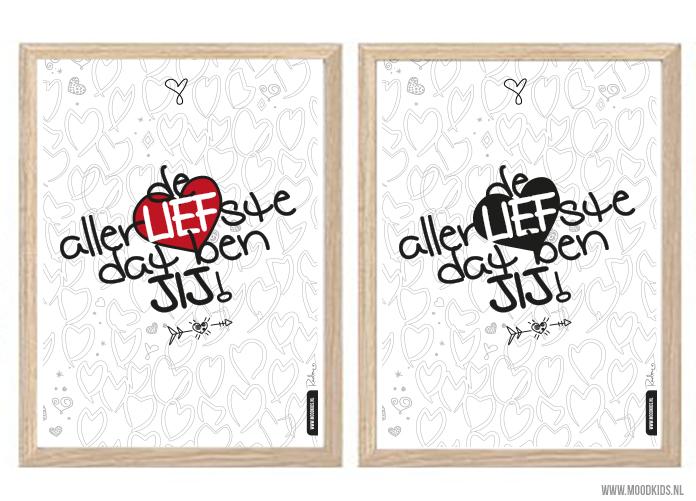 Zet je lief in het zonnetje met deze gratis Valentijnposters. Print de posters uit en plak ze overal in huis waar je maar kan. Simpel toch?