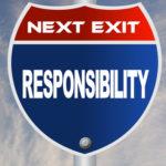 Eigen verantwoordelijkheid.. Best lastig in de VS