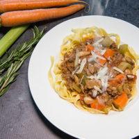 Ragú met veel groente: maken, eten en invriezen