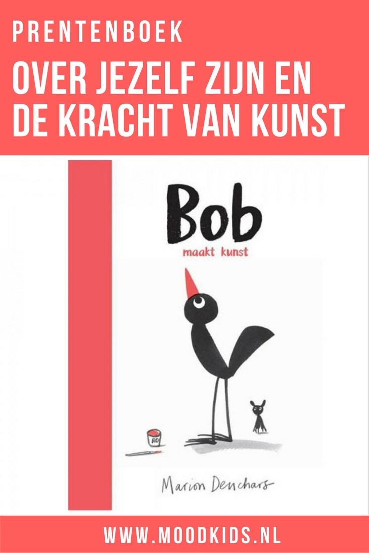 Een bijzonder stijlvol prentenboek met een boodschap. Over zelfvertrouwen en jezelf mogen zijn én de kracht van kunst. Lees onze review van Bob maakt kunst.