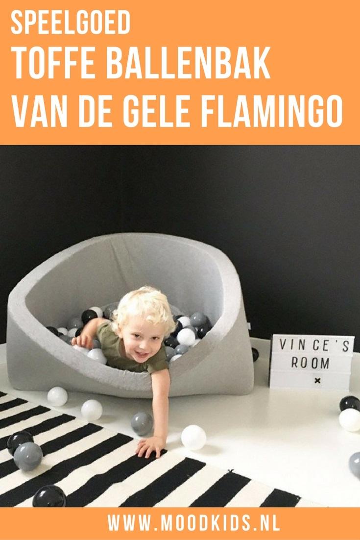 Jouw kind fan van de ballenbak? Deze wil je wél in je huis hebben! De ballenbak van webshop De Gele Flamingo is namelijk een plaatje! Kijk en lees maar!