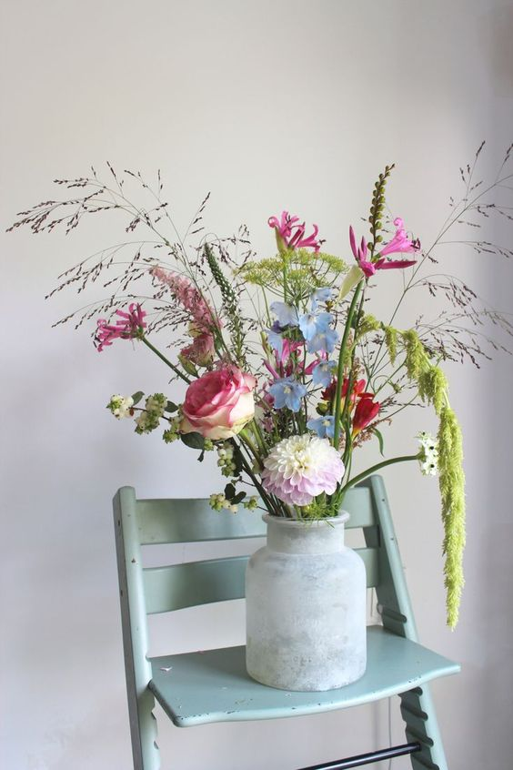 Prachtig boeket van bloemist en stylist Judith Slagter